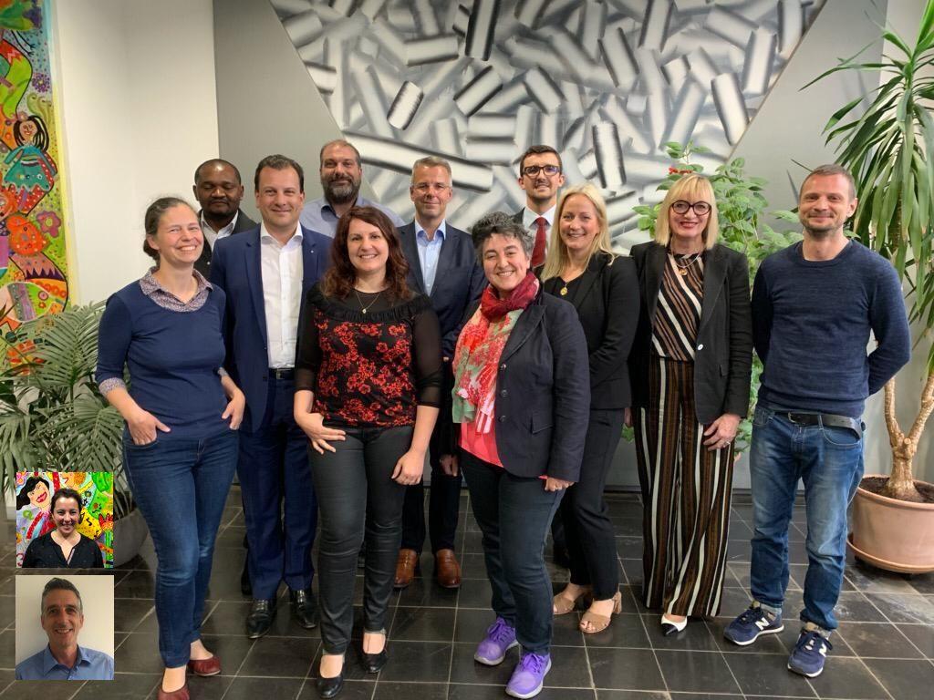 Les membres du Comité de parents 2019/2020